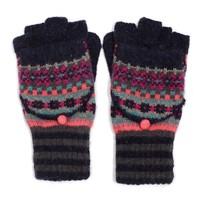 M&K Collection Gloves Shetland navy