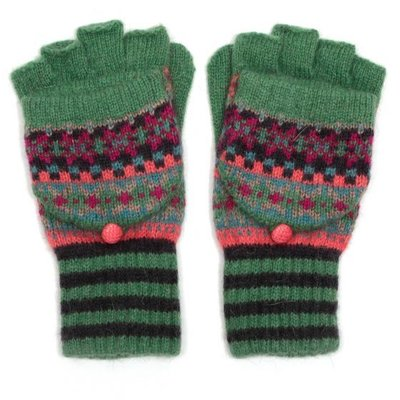 M&K Collection Handschuhe Shetland green