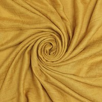 M&K Collection Schal Cotton/Wool mustard