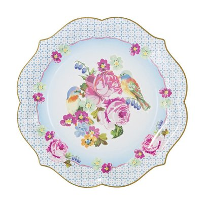 Talking Tables Serving Platters Truly Scrumptious Bleu and Yellow