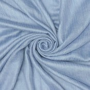 Pure & Cozy Schal Cotton/Wool steal blue