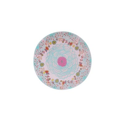 Overbeck and Friends Melamine plate Lilly-Rose mini