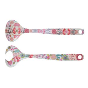 Overbeck and Friends Melamine salad servers Lilly-Rose