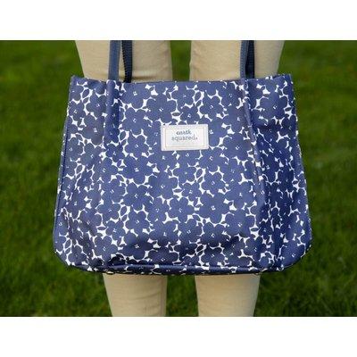 Earth Squared Freya Bag Navy Flower