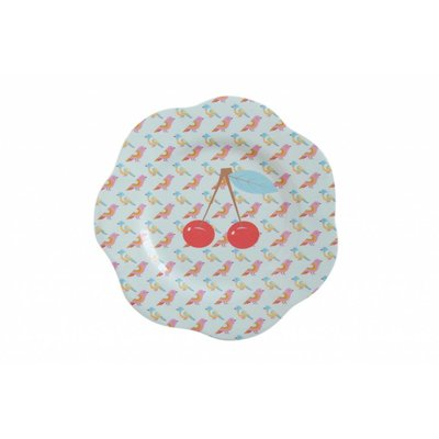 Overbeck and Friends Melamin Teller Cherry small