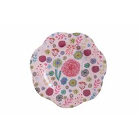 Overbeck and Friends Melamine plate Lilly-Rose small
