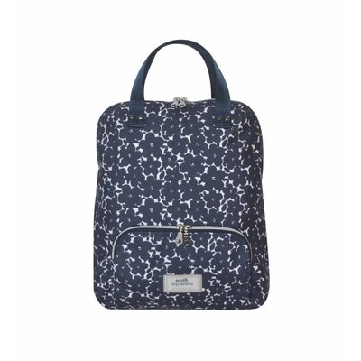 Earth Squared Backpack Navy Flower