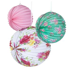 Talking Tables Paper Lantern Truly Scrumptious Set of 3