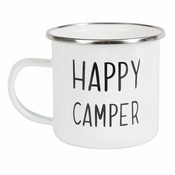 Sass & Belle Mug Enamel Happy Camper