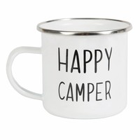 Sass & Belle Becher Emaille Happy Camper