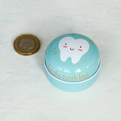 Rex London Tin Tooth Fairy blue