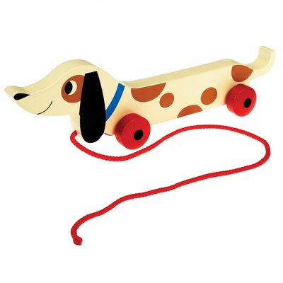 Rex London Pull Toy Charlie the Sausage