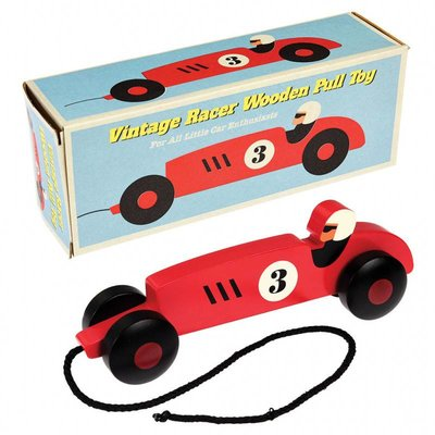 Rex London Pull Toy Vintage Racer