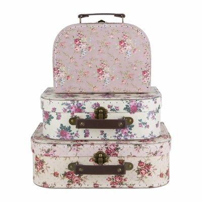 Sass & Belle Cases Vintage Rose Set of 3