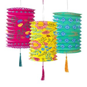 Talking Tables Paper Lantern Boho Set of 3