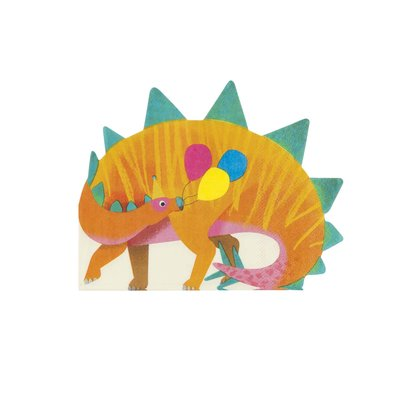 Talking Tables Paper Napkins  Dino Shaped