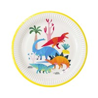 Talking Tables Paper Plate Party Dino