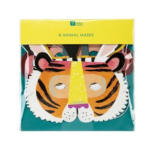 Talking Tables Paper Masks Party Animals