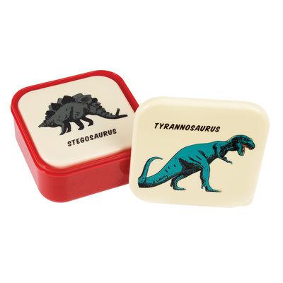 Rex London Snack Boxes set of 3 Prehistoric Land