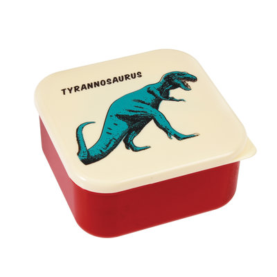 Rex London Snack-Boxen 3er-Set Prehistoric Land