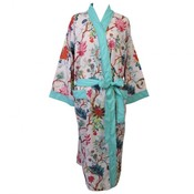Powell Craft Dressing gown Pink Floral