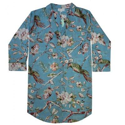 Powell Craft Nightshirt Blue Blossom M/L