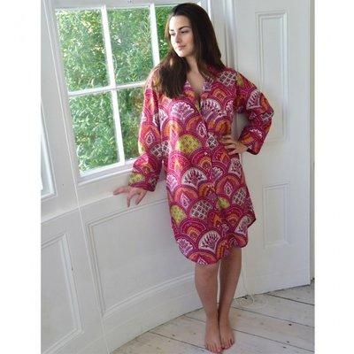Powell Craft Nachthemd Rasberry Paisley S/M