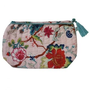 Powell Craft Wash Bag Pink Floral