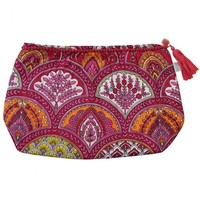 Powell Craft Wash Bag Rasberry Paisley