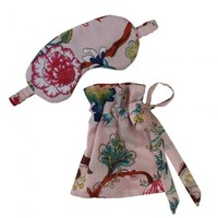 Powell Craft Eye Mask Pink Floral