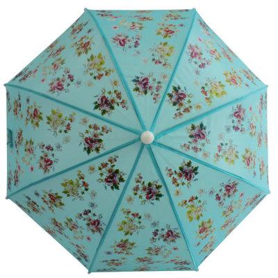 Powell Craft Kinder Regenschirm Blue Floral