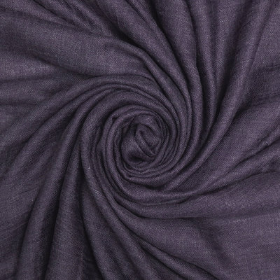 Pure & Cozy Scarf Cotton / Wool purple