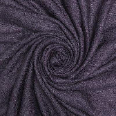 Pure & Cozy Schal Cotton/Wool purple