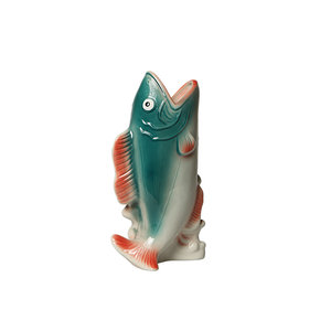 Kitsch Kitchen Vase Fish