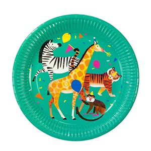 Talking Tables Paper Plate Party Animals