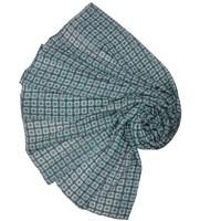 M&K Collection Schal Geo Tiles light green