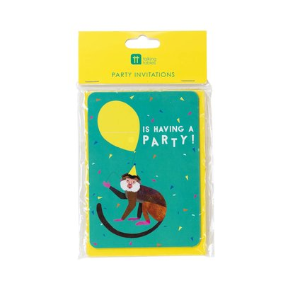 Talking Tables  Invite Cards  Party Animal