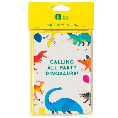 Talking Tables Einladungskarten Party Dinosaur