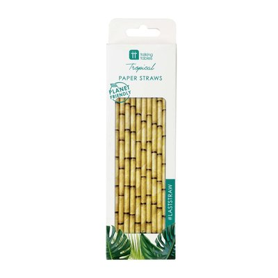 Talking Tables Paper straws Bamboo