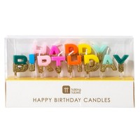 Talking Tables Birthday Candles Rainbow Happy Birthday