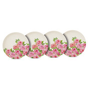 Paperproducts Design Plate Bamboo Set of 4  Merci