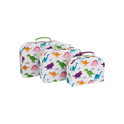 Sass & Belle Suitcases Roarsome Dinosaurs