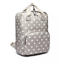 Blossify by Blossify Backpack  Dotty grey