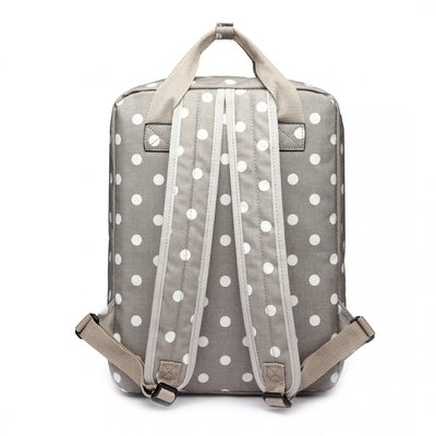 Blossify by Blossify Rucksack  Dotty grey