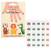 Rex London Nail Sticker Colourful Creatures