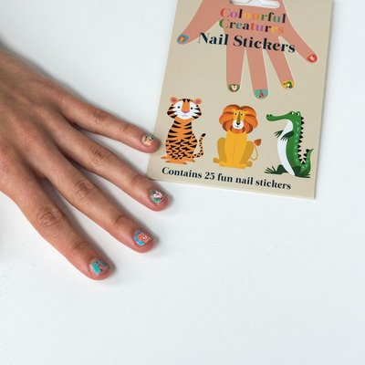 Rex London Nagel-Sticker Colourful Creatures