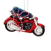 Sass & Belle Weihnachtsdekoration Motorcycle with Christmas Tree