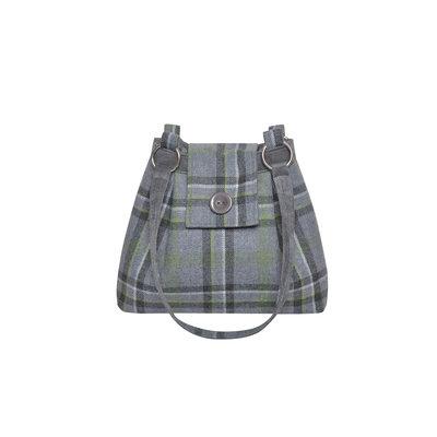 Huiskamergeluk Ava Bag Tweed Storm Grey