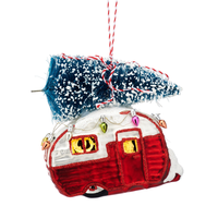 Sass & Belle Christmas decoration Red Caravan
