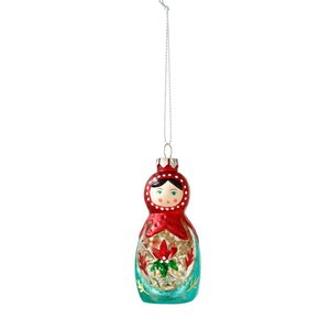 Talking Tables Christmas decoration Russian Doll